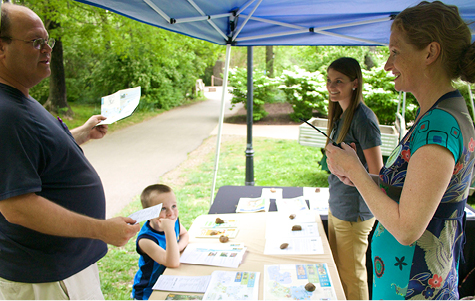 TRIAD Community Engagement event at the Nashville zoo