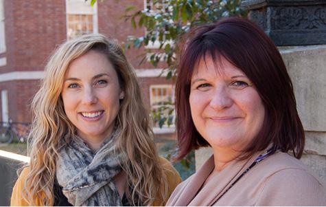 LEND trainee Neill Cox Broderick, Ph.D., and LEND/UCEDD Social Work trainee Lisa Hale
