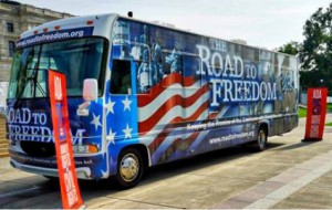 Americans with Disabilities Act (ADA) Legacy exhibit bus