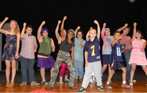 SENSE Theatre 2015 campers