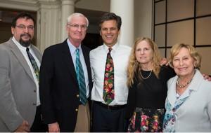 Karoly Mirnics, Bill Gavigan, Timothy Shriver, Elisabeth Dykens, Ann Eaden. (Photo Vanderbilt University / Susan Urmy)