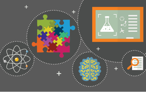 Science And Research Banner - Illustration