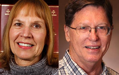"""Vivien Casagrande, Ph.D. and Edward """"Warren"""" Lambert, Ph.D."""