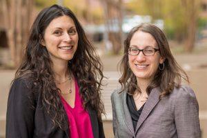 Reyna Gordan and Miriam Lense