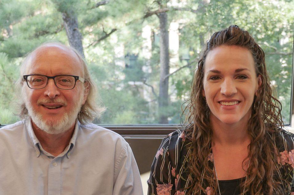 Bob Hodapp and Ellen Casale