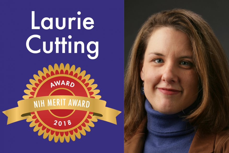 Laurie Cutting smiling