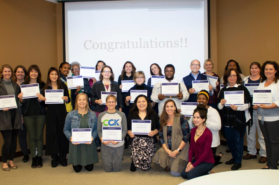 Volunteer Advocacy Program 2018 Graduates