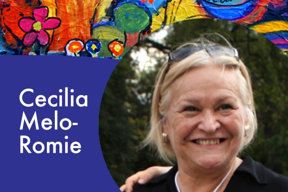 Cecilia Melo-Romie smiling