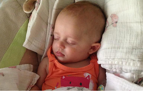 Five-month-old baby girl diagnosed with Angelman syndrome (Vanderbilt University)