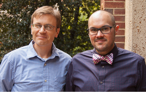 From left, TRIAD Executive Director Zack Warren, Ph.D., and TRIAD Director Pablo Juarez, M.Ed., BCBA.