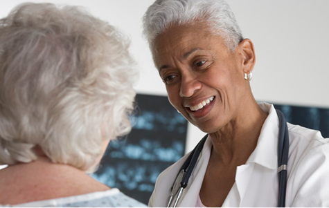 Doctor Speaking with Patient. Image by © Royalty-Free/Corbis