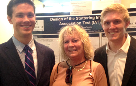 Left to right: Ryan Spears, Tedra Walden, and Michael Kremer