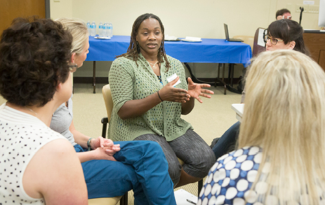 LEND leadership training meeting of trainees from VU/VUMC, Belmont, TSU, and UT-Nashville.