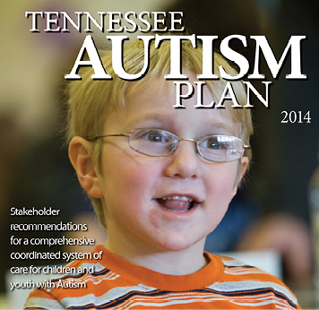 Front cover photo of the Tennessee Autism Plan