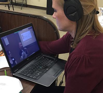 TRIAD Families First using telehealth technology