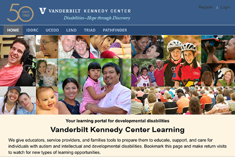vkclearning.org web page