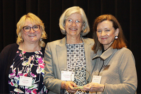 Lisa Primm, Elise McMillan, Wanda Willis. Photo byKyle Jonas.