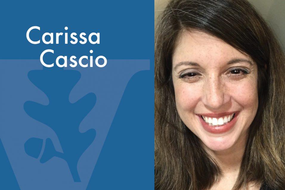 Carissa Cascio smiling