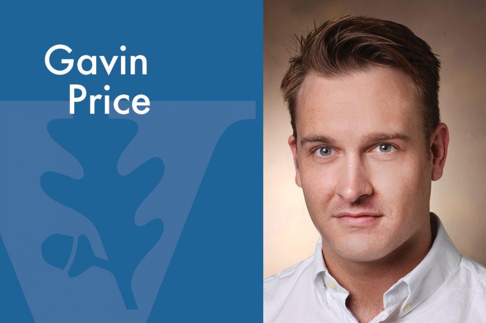 Gavin Price smiling