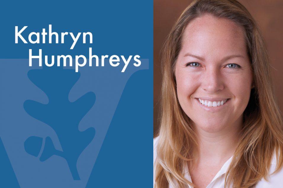 Kathryn Humphreys smiling