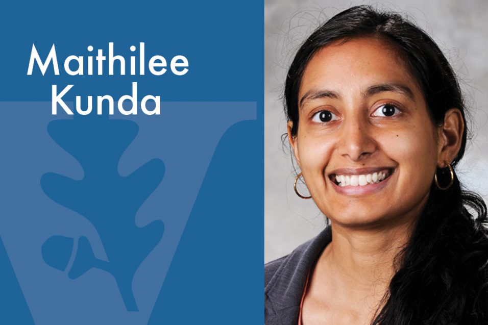 Maithilee Kunda smiling