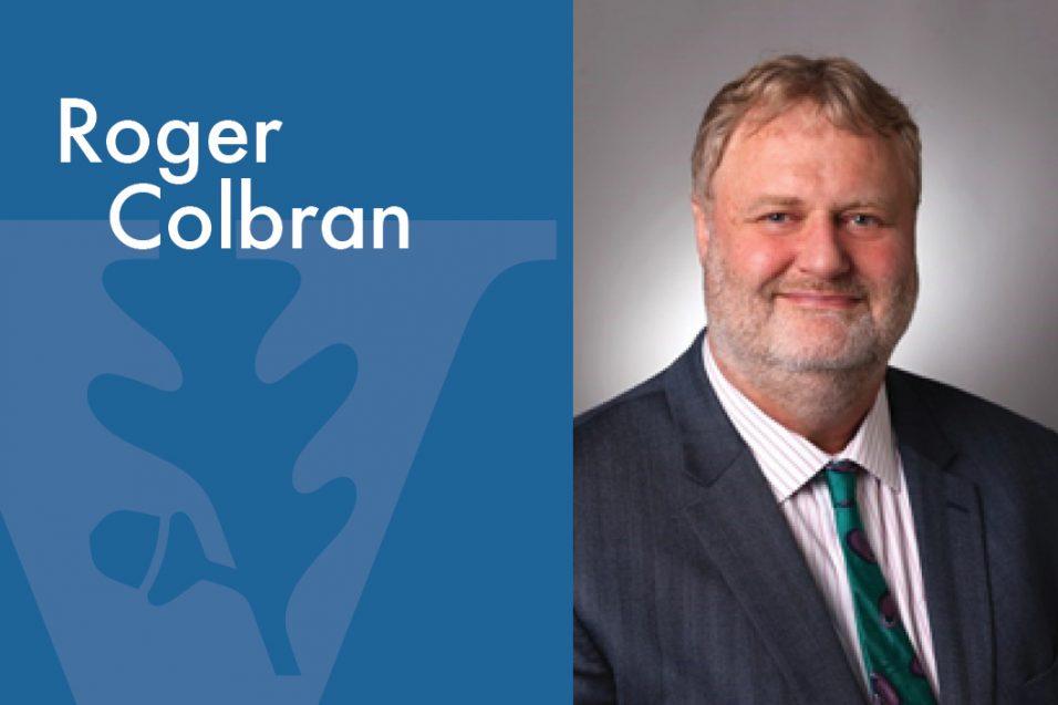 Roger Colbran smiling