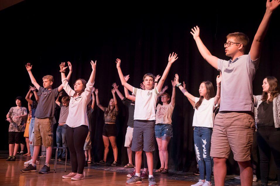 SENSE Theatre participants