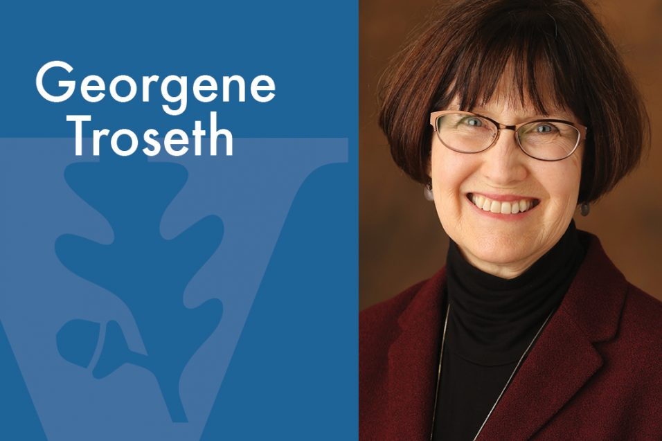 Georgene Troseth smiling