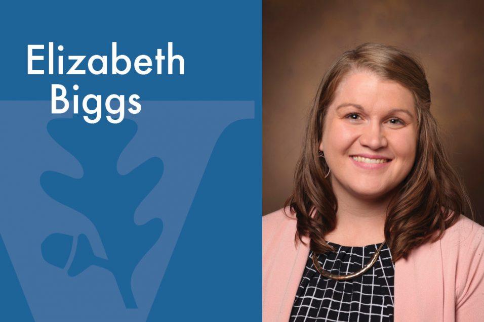 Elizabeth Biggs smiling